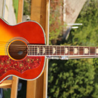 Fishbone Acoustic Jumbo FJ-200-CH Cherry Burst