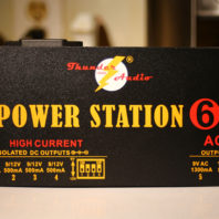 A Thunder Audio Power Station/6 Pedal Power Supply
