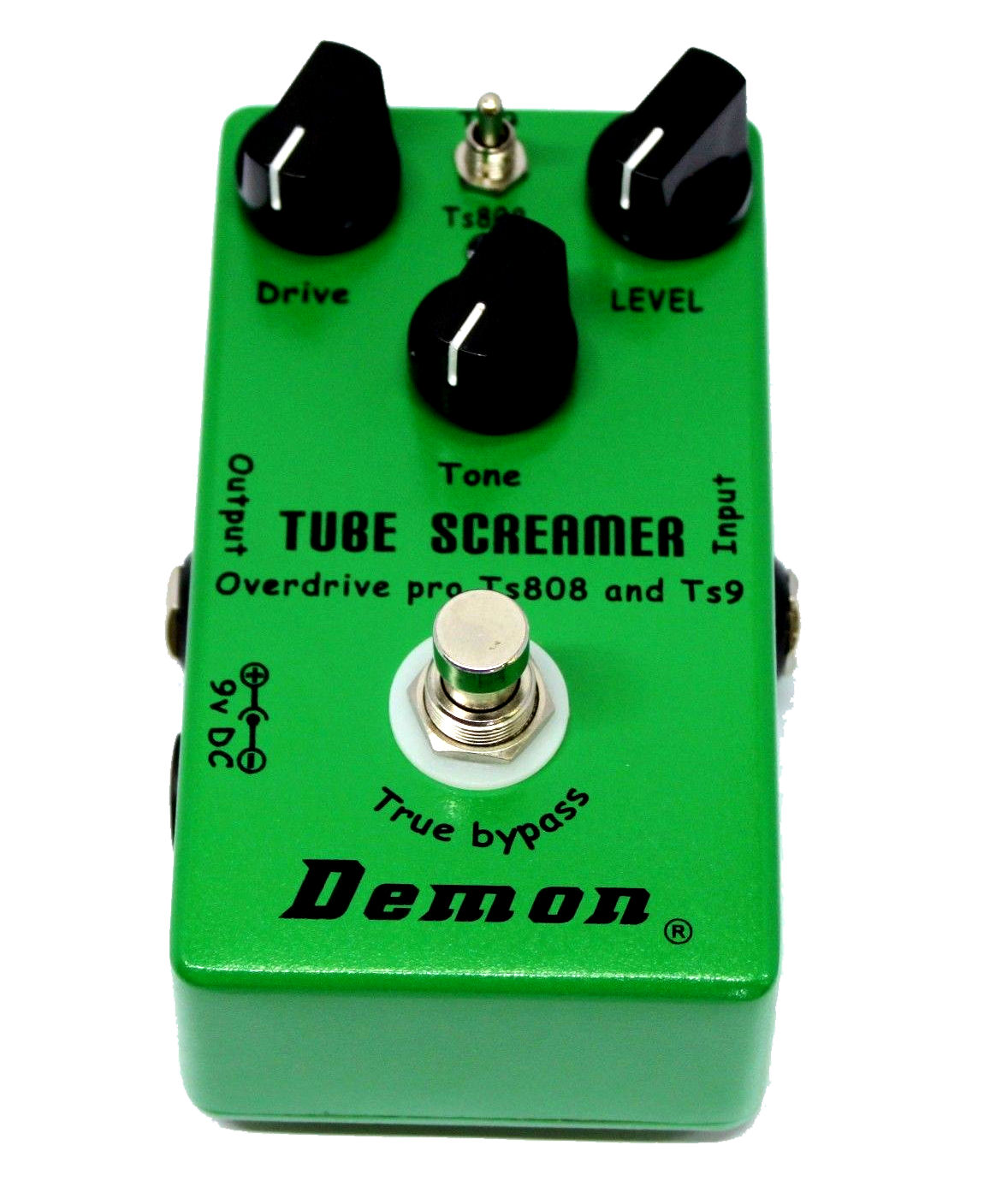 Mosky Demon Vintage Tube Screamer TS9 and TS808 with Keeley Plus Mod