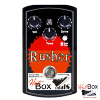 Hot Box Pedals Canada HB-RS RUSHER Analog Distortion