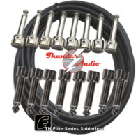 Thunder Audio TH-Elite Series 8R+8S Solder-free Patch Cable Kit
